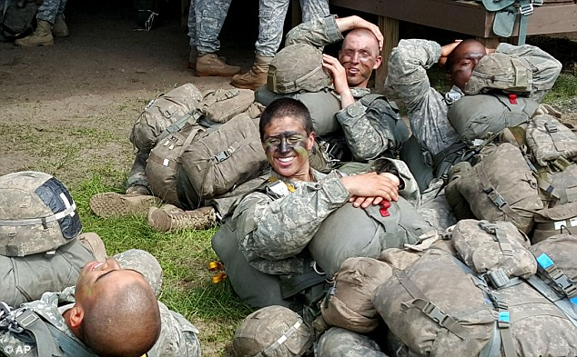 Revealed the names of the first two females to pass Army Ranger School