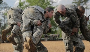 Capt Kristen Griest at Ranger School