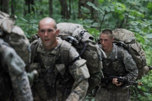 1st Lt. Shaye Haver at Ranger School