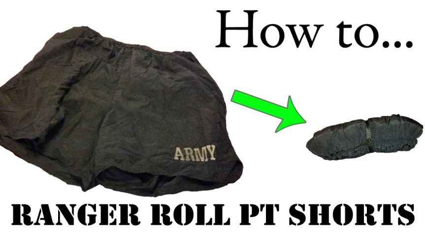 How to Ranger Roll PTShorts